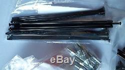 Montesa Cota 315 Spokes Et Noix Noire Nouveau Kit Avant Et Roue Arrière Montesa 315