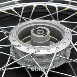 New Front &rear Wheel Rim Hub Spoke For Honda Trail Ct90 Ct200 Nous