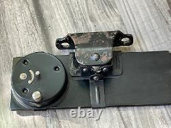 Nos Westclox Automobile Vue Arrière Horloge Accessoire Miroir Vintage Scta Hot Rod