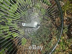 Nouveau Vélo Wheelset En Acier Robuste 26 X 144 Rayons Beach Cruiser Lowrider