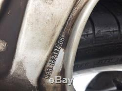 Porsche 996/993 Oem Turbo Look 5 Spoke 18 Roues / Pneus & Capuchon - Navire Gratuit