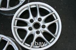 Porsche Oem 17 Boxster 10 Spoke Front & Rear Wheels 17x7 / 17x8.5 2004 Porsche Oem 2003-2004
