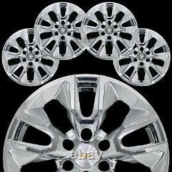 Pour Chevrolet Silverado 1500 2019-21 Chrome 20 Roues Skins Hub Casquettes Rim Couvertures