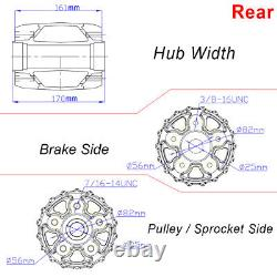 Pour Harley 16x3.5 Fat Spoke Front Rear Wheels Touring 84-07 Dyna Softail Fxdwg