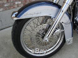 Pour Harley Customs 2000 Super Spoke 65 T Entretoise Poulie & Rotor Rotor K 1/1