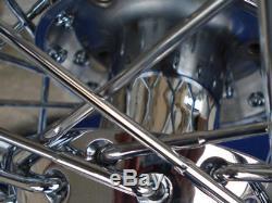 Roue Avant 19x2.50 & Arrière 16x3 40 Pour Harley Dyna Sportster