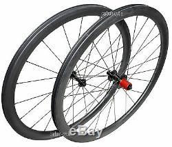 Sapim Cx-ray Carbone Clincher 56mm Roue 700c U Jante De Vélo De Route Avant Arrière Ud Mat