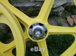 Skyway Tuff Roues Ii, 5 Spoke Roues En Alliage Convient 20 Pneus 3/8 Filetage Coaster Frein