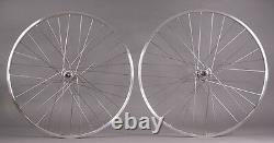 Sun M13 Silver Track Bike Fixe Gear Monospeed Wheelset 32h Dt Portes