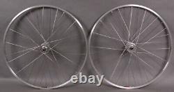 Sun M13 Silver Track Bike Fixed Gear Singlespeed Wheels Wheelset 36h Dt Spokes