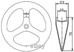 Superteam Tri Spoke Wheel Vélo Avant / Arrière Route / Piste 3 Spoke Wheels 700c