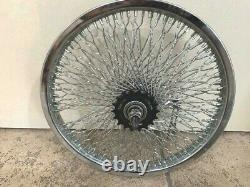 Sur Mesure Jeu De Roues Tordues 16 X 1,75 With144 Spokes Lowrider Bikes Cruiser