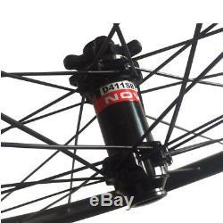 Ultra Léger 1250g 29er Vtt Carbone Wheelset 28x22mm Tubeless Hookless Roues De Vélo