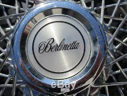 Usine Chevy Camaro Berlinetta 14 Pouces Fil A Parlé Enjoliveurs Enjoliveurs Belle