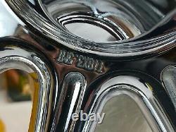 Véritable Harley Revolver Forgé À L'avant Et À L'arrière 10 Roues Sur Mesure Oem Alcoa