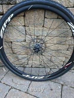 Zipp 30 Course Clincher Disc Brake Wheelset 700c 24 Rayons 10/11- Vitesse